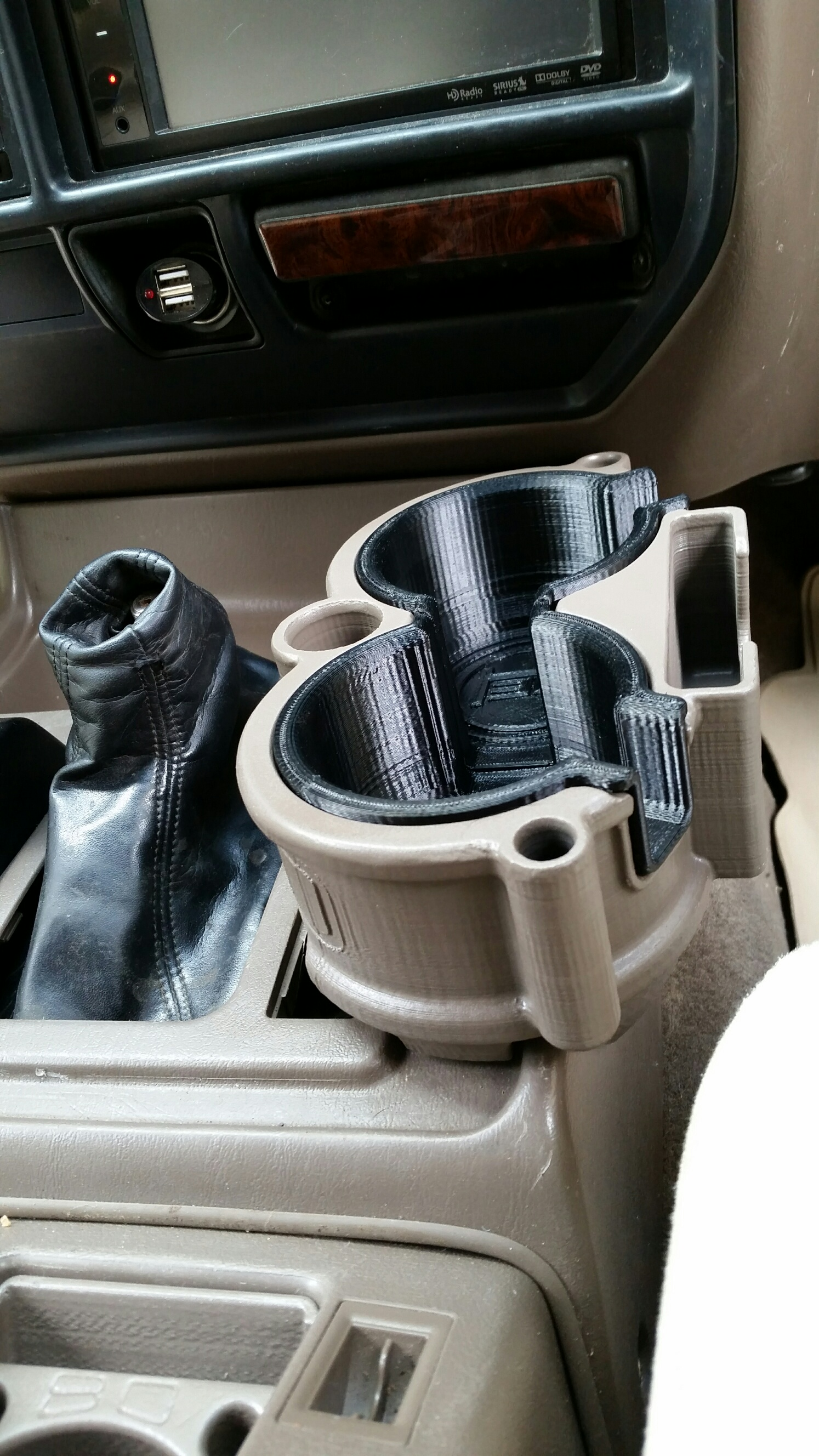 2014 Toyota Tacoma >> 80 Series/LX450 Double Cup Holder – BH3D Printing