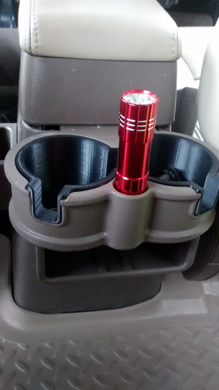 80 Series Lx450 Rear Double Cup Holder Bh3d Printing