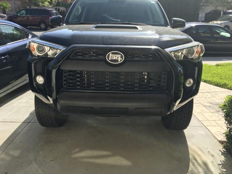 Aluminum 5th Gen 4runner Teq Front And Rear Badges Bh3d