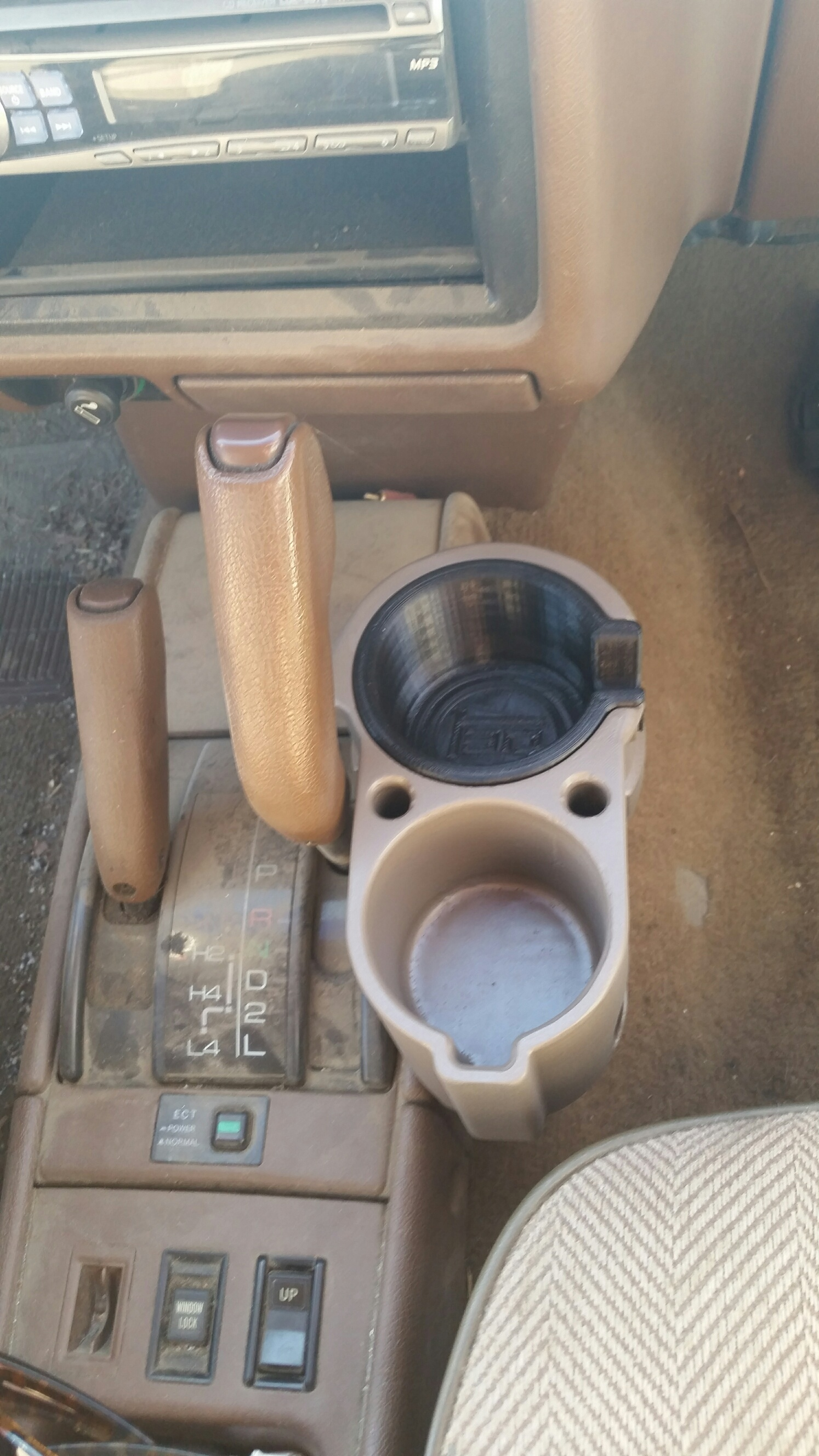 2nd Gen 4runner Double Cup Holder Bh3d Printing