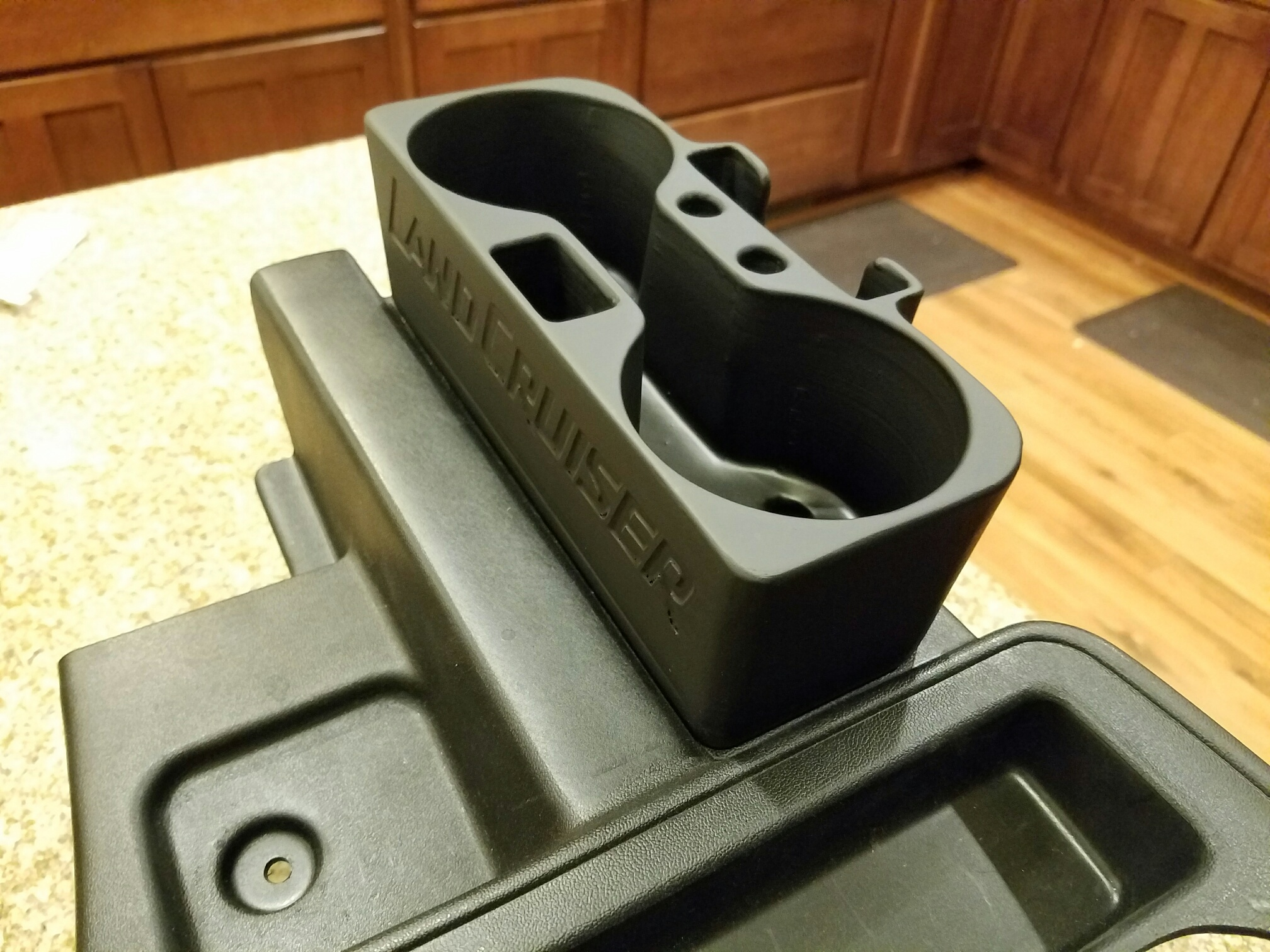 Black Toyota Tacoma >> 70 Series Cup Holder-Go to Odd Iron Offroad For Purchasing-Link Below – BH3D Printing